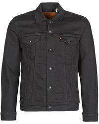 Levi's Spijkerjack Levis The Trucker Jacket - Zwart