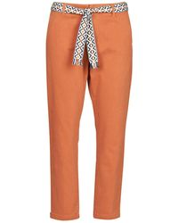 Vero Moda Chino Broek Vmsvea - Oranje