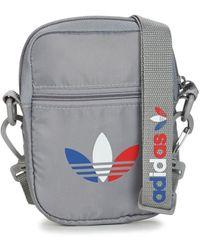 adidas Bolso TRICOL FEST BAG - Gris