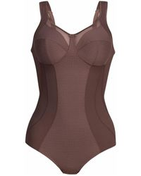 Anita Body topcomfort clara art sans armatures Bodys - Marron