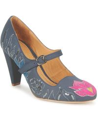 Maloles Chaussures escarpins CLOTHILDE - Gris