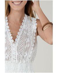 Molly Bracken - Camiseta tirantes TOP LA627E21 WHITE - Lyst