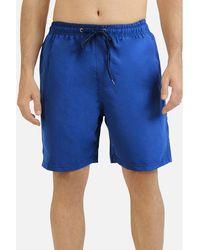 Kebello Maillots de bain Short de bain uni H Marine - Bleu