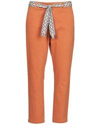 Vero Moda Pantalone Chino Vmsvea - Arancione