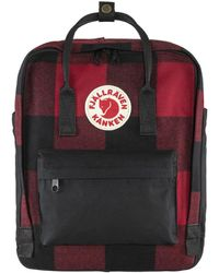 Fjallraven Tas Kanken Re-wool - Rood