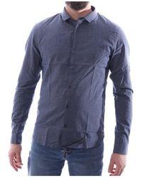 Teddy Smith Camisa manga larga - Azul