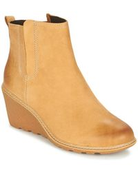 Timberland Ek Amston Chelsea Wh Low Ankle Boots - Yellow