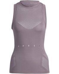 adidas Top Engineered Knit Tanktop - Paars