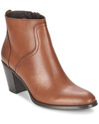 Tremp - Mina Women's Low Ankle Boots In Brown - Lyst