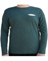 Timberland TFO LS BACK MAGLIA VERDE T-shirt - Vert