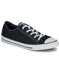 Converse Lage Sneakers Chuck Taylor All Star Dainty Gs Canvas Ox - Zwart