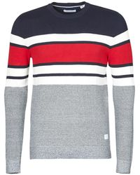 JACK /& JONES Coeur Hommes Pull Manches Longues Col Rond Tricot Pull