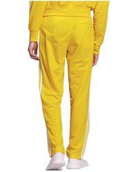 adidas Pantalón chandal - Amarillo