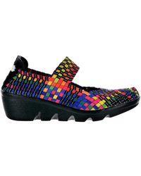 Bernie Mev Lihi Lulia Black Multi Chaussures - Noir