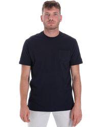 Les Copains Camiseta 9U9010 - Azul
