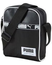 PUMA Sac Bandouliere Campus Portable - Noir
