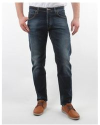 4e123285d83 Lee Jeans - Spodnie Męskie Chase Night Sky Blue Men's Jeans In Blue - Lyst
