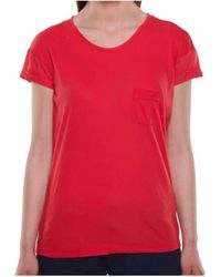 Sun Valley T-shirt Sun Valley. T. colore - Rosso