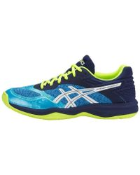 Asics - Netburner Ballistic Ff Women's Shoes (trainers) In Blue - Lyst
