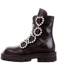 John Richmond Boots 3085A - Noir