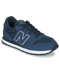 New Balance - Lage Sneakers 500 - Lyst