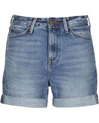 Lee Jeans Korte Broek Boyfriend Short - Blauw
