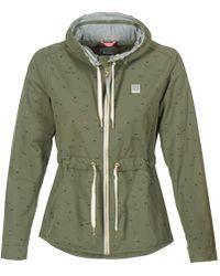 Bench - Blwk002731 Women's Jacket In Green - Lyst