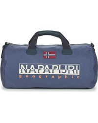 Napapijri Beiring Women's Travel Bag In Blue