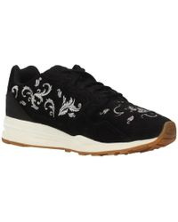 5011f1b2810 Le Coq Sportif - Lcs R900 W Embroidery Women s Shoes (trainers) In Black -