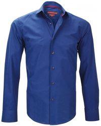 Andrew Mc Allister Chemise mode italian bleu Chemise