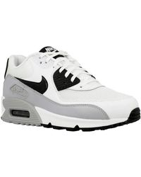 best website 41269 508b1 Nike - Air Max 90 Womens Shoes (trainers) In White - Lyst