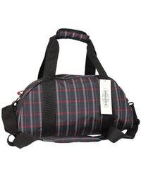 Eastpak Sac polochon Compact EK10205H motif noir rouge Sac de voyage