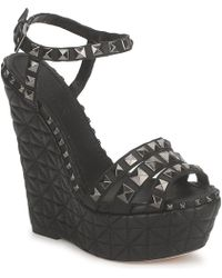 Sebastian - S5245 Women's Sandals In Black - Lyst