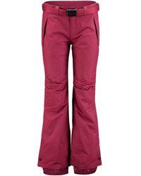 O'neill Sportswear Passion Red Star Womens Snowboarding Trousers Sportswear