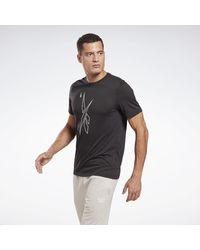 Reebok Camiseta MYT Graphic - Negro