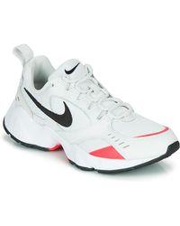 Nike Air Heights Sneakers Wit/zwart