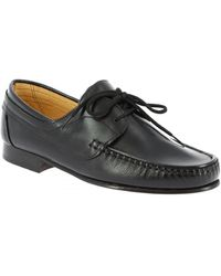 Leonardo Shoes Derbies 096 VITELLO NERO - Noir