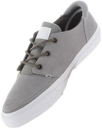 1ff61944ddb Converse - Deck Star Men s Shoes (trainers) In Grey - Lyst
