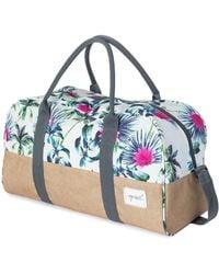 Rip Curl Palms Away Duffle Bag Ltrea4 Women's Travel Bag In Multicolour - Blue