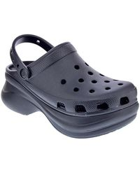 Crocs™ Zuecos Classic Bae Clog W Black - Amarillo