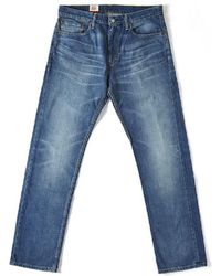 Levi's - Levis 504 Regular Straight Jeans Light Blue Fairfax 0190 Men's Jeans In Blue - Lyst