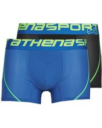 Athena Boxers Air Performance Pack X2 - Zwart