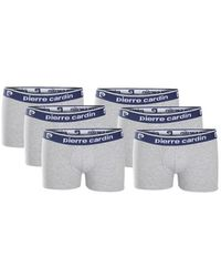 Pierre Cardin 6-pack Boxers Boxer Shorts - Grey