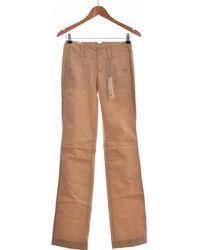 Esprit Pantalon Droit Femme 32 Chinots - Marron