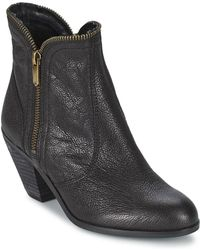 Sam Edelman - Linden Women's Low Ankle Boots In Black - Lyst