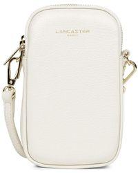 Lancaster Etui smartphone ref 51835 Ecru Housse portable - Neutre