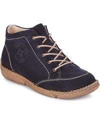 Josef Seibel Boots - Bleu