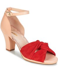 Miss L Fire - Evie Women's Sandals In Red - Lyst