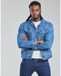 Lee Jeans Giacca In Jeans Rider Jacket - Blu