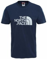 The North Face - Short Sleeve Easy Mens Tee - Lyst